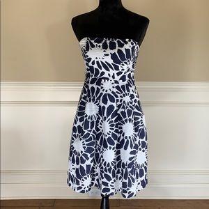 J. Crew Dresses - J Crew 100% Cotton Patterned Fit & Flare Dress EUC